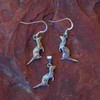 Sterling Silver Ferret Earrings