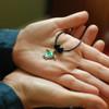 Enamel Green Sea Turtle Necklace