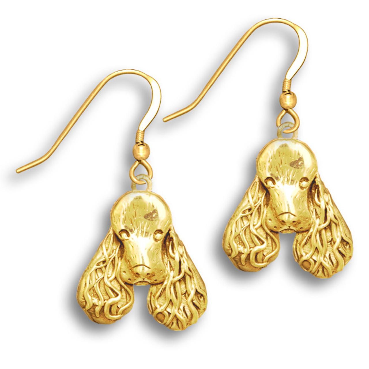 Spaniel Charm Earrings