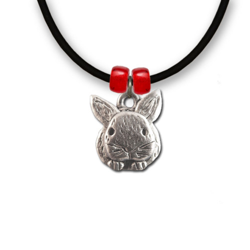 Pewter Rabbit Necklace