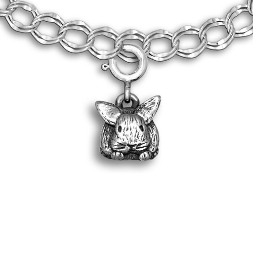 Sterling Silver Bunny Charm