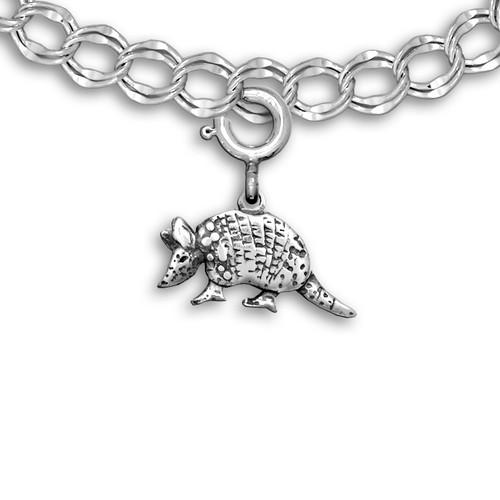 Sterling Silver Sterling Silver Armadillo Charm
