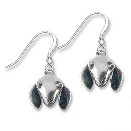 Sterling Silver Nubian Goat Earrings