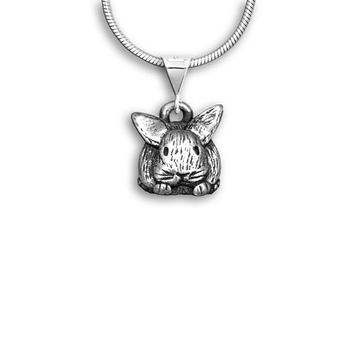 Sterling Silver Bunny Pendant