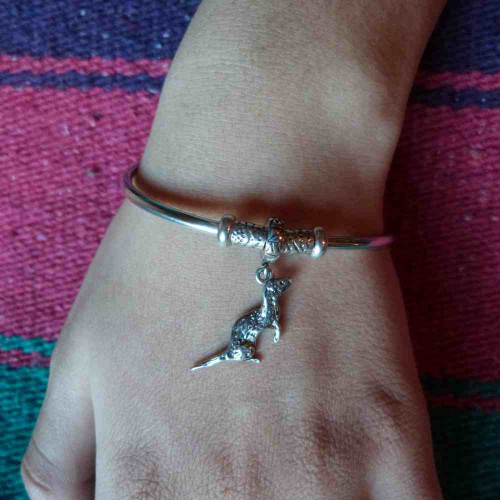Pandora Style Ferret Charm Bracelet