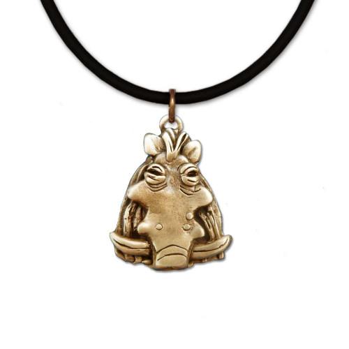 Bronze Warthog Necklace