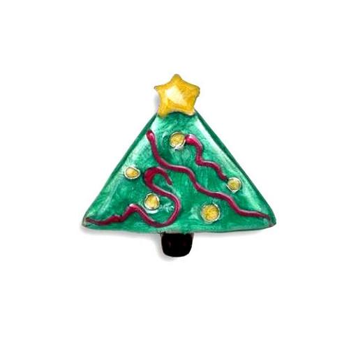 Enamel Christmas Tree Pin