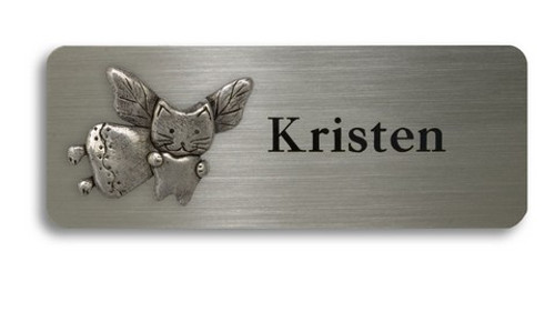 Cat Tooth Fairy Name Badge