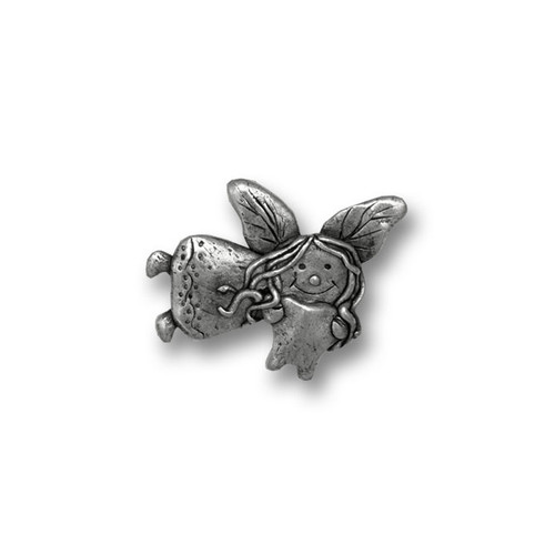 Pewter Tooth Fairy Lapel Pin