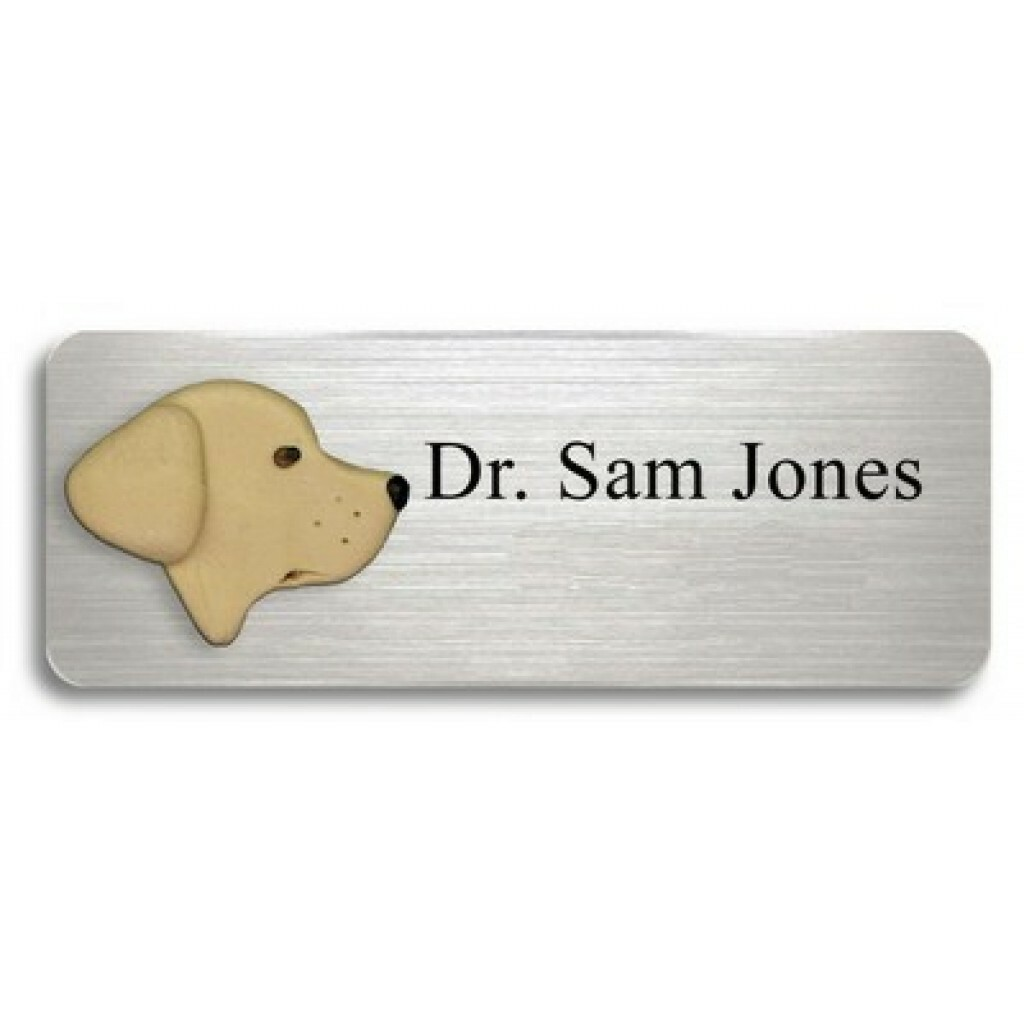 Name Tags With 1 Clay Animal