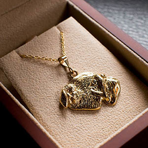 Custom 18K Gold Pet Designs