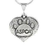 ASPCA Paw Print Pendant
