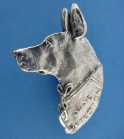 Rosa the Mine Detection Dog Custom Jewelry