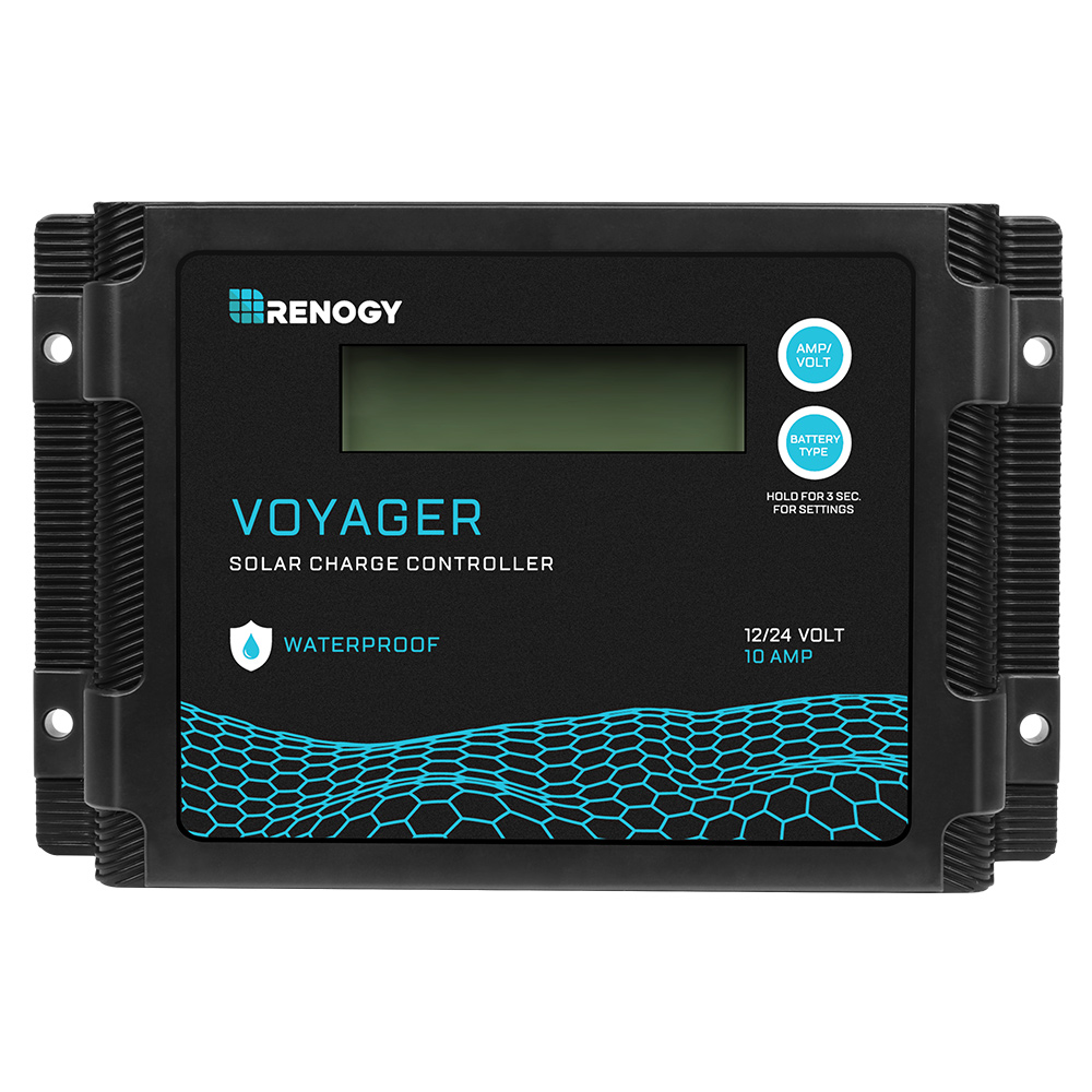 New Edition Voyager 10A PWM Waterproof Solar Charge Controller