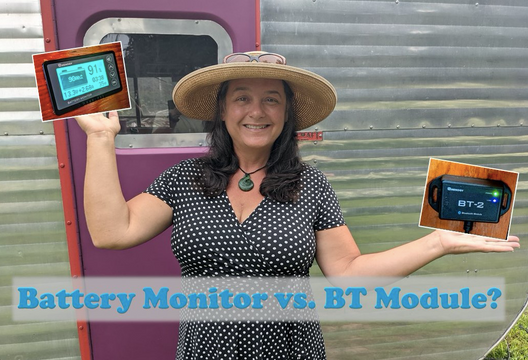 BT Module vs Battery Monitor:  Watts Best for Your Solar Powered System?