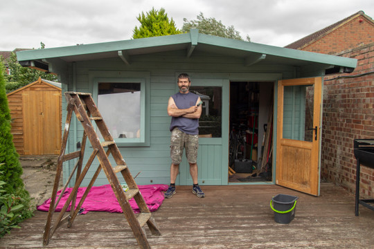 It's Easy To Install ​A Solar Panel For Your Shed