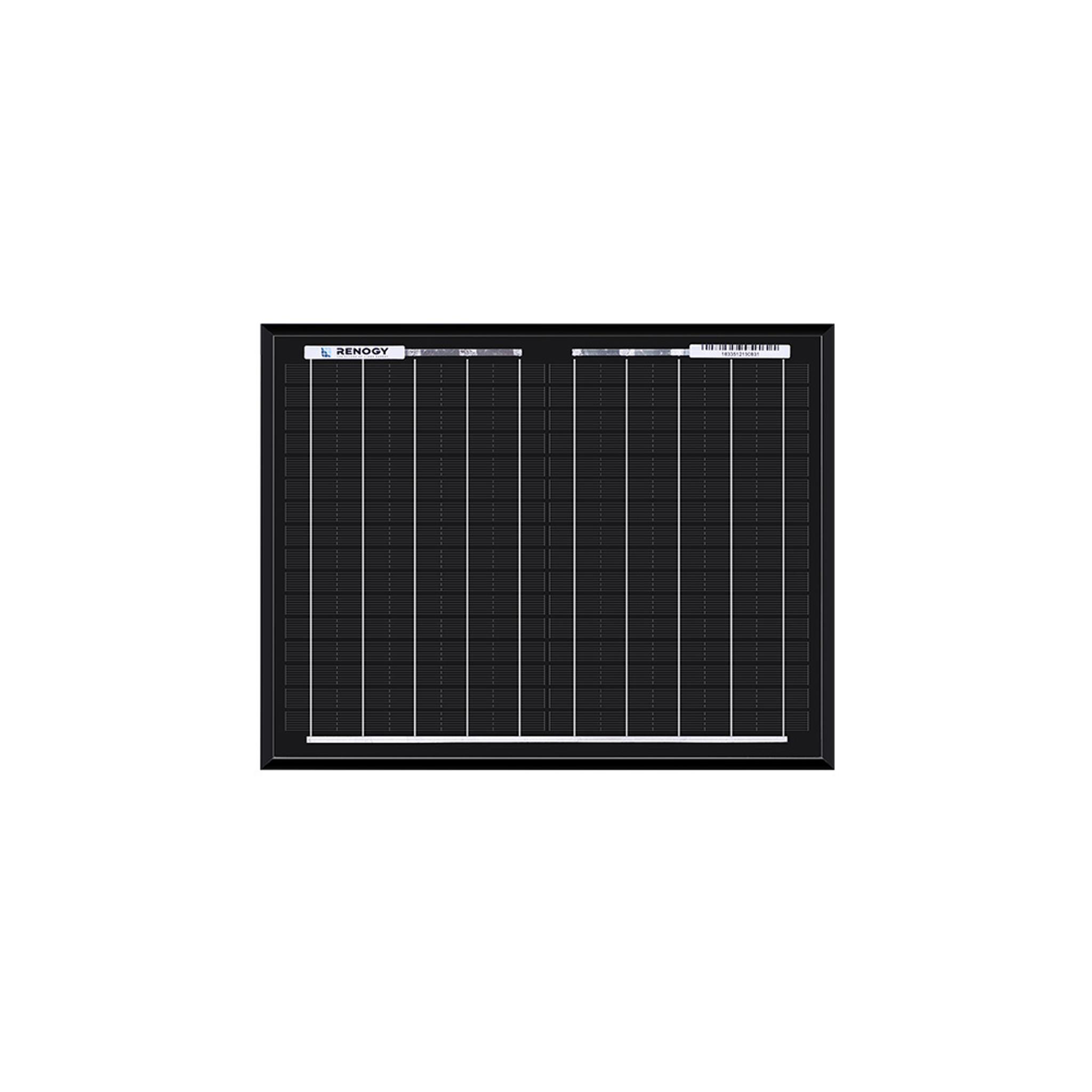 10 Watt 12 Volt Monocrystalline Solar Panel Renogy Solar