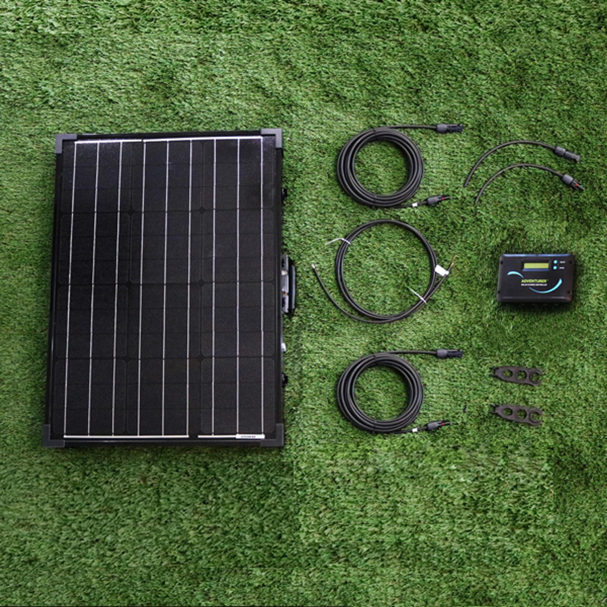 100w Portable Rv Kit Renogy Solar