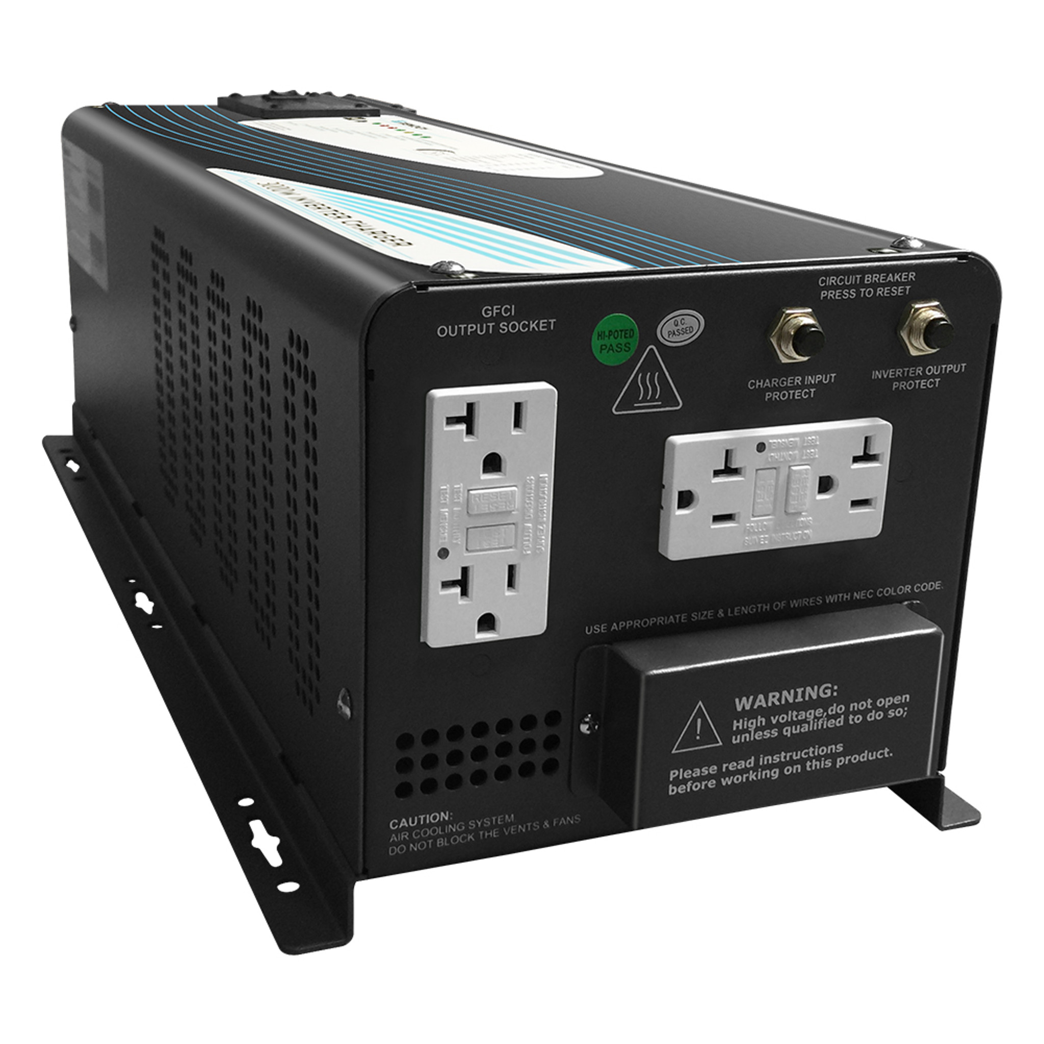 Renogy 3000W Pure Sine Wave Inverter Charger on