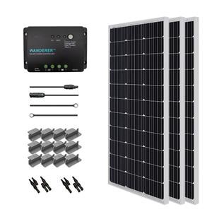 Renogy 300 Watt 12 Volt Solar Starter Kit