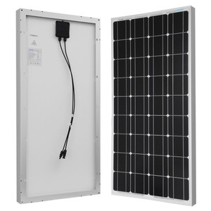Rigid Solar Panel - Renogy 100 Watt 12 Volt Monocrystalline Solar Panel