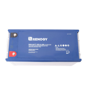 Renogy Deep Cycle Pure GEL Battery 12 Volt 200Ah