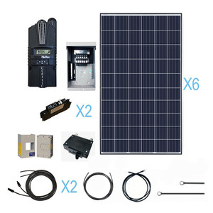 Renogy 1600 Watt 24 Volt Polycrystalline Solar Cabin Kit