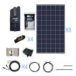 Renogy 2100 Watt 24 Volt Polycrystalline Solar Cabin Kit