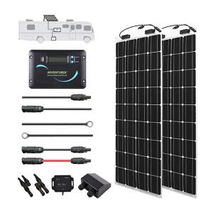 Renogy 200 Watt 12 Volt Flexible Solar RV Kit