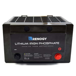 Renogy Lithium-Iron Phosphate Battery 12 Volt 100Ah