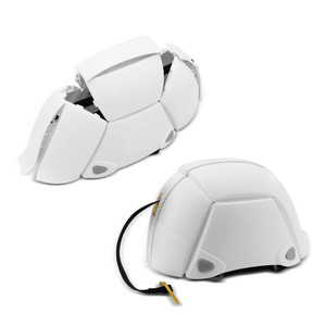Foldable Bike Helmet Adjustable 500g Portable Safety Helmet