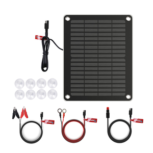 5W Solar Battery Charger and Maintainer