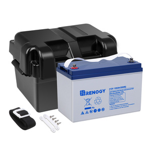 12V 100Ah Deep Cycle Hybrid GEL Battery w/ Battery Box