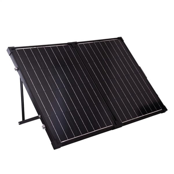 Renogy 100 Watt 12 Volt Monocrystalline Foldable Solar Suitcase w/o Controller