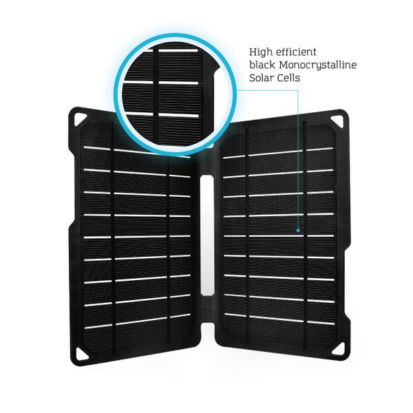 Renogy E.FLEX10 Monocrystalline Portable Solar Panel with USB Port