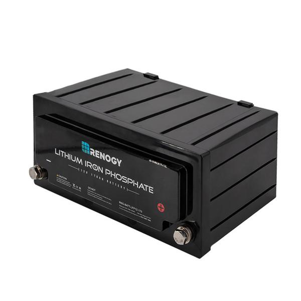 Solar Deep Cycle Battery - Renogy Lithium-Iron Phosphate Battery 12 Volt 170Ah