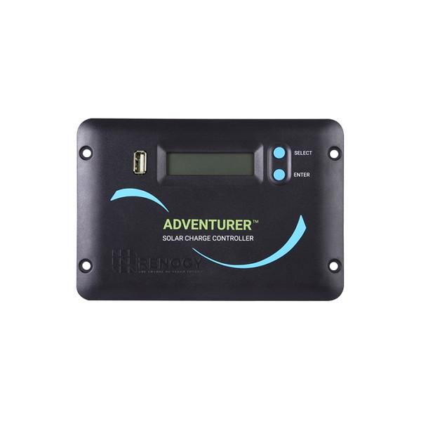 Renogy Adventurer Li- 30A PWM Flush Mount Charge Controller w/ LCD Display