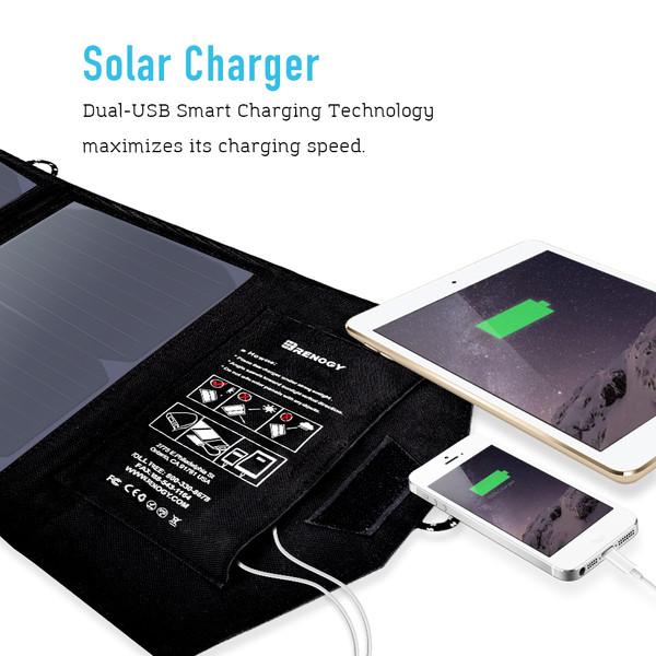 Renogy 21 Watt Foldable PowerPort Solar Panel