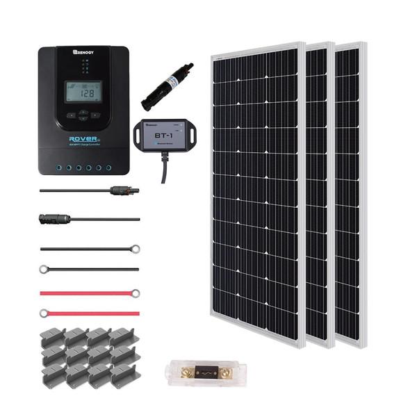 300 Watt 12 Volt Solar Premium Kit