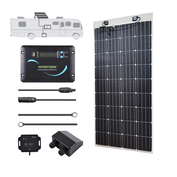 Renogy 160 Watt 12 Volt Solar RV Kit