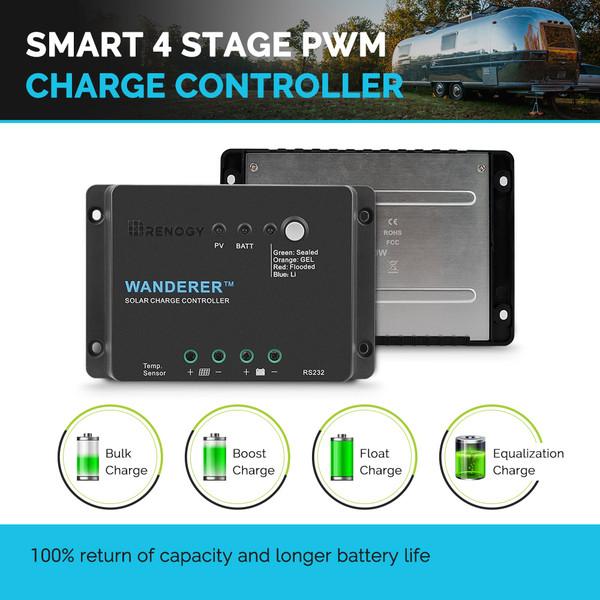 Renogy Wanderer Li 30A PWM Charge Controller