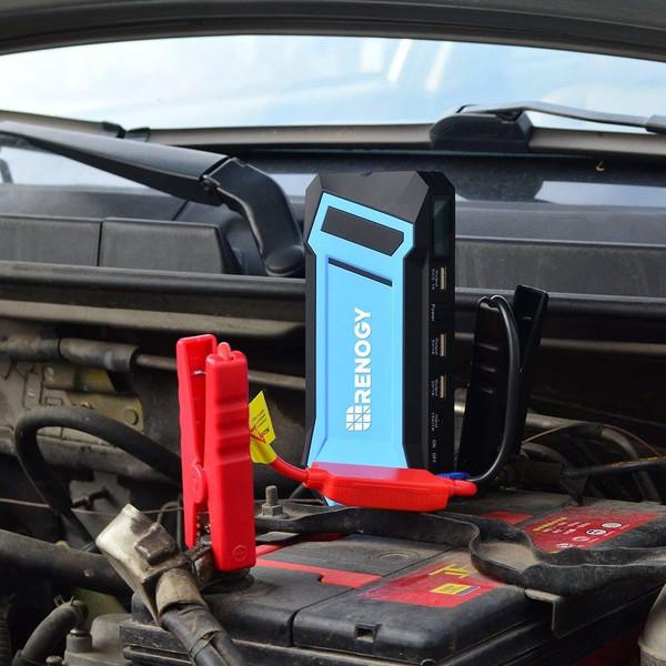 Renogy 400A Peak 12000 mAh Portable Car Jump Starter