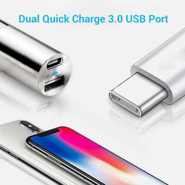 Renogy Mini USB-A and USB-C Car Charger