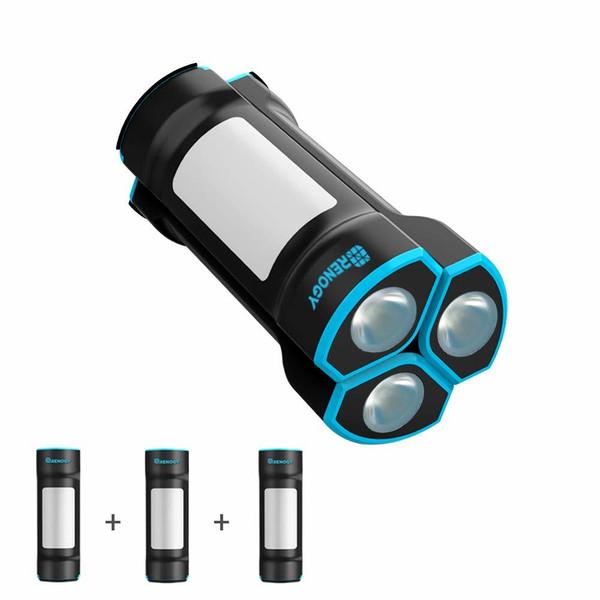 E.LUMEN-M Magnetic Rechargable Flashlight