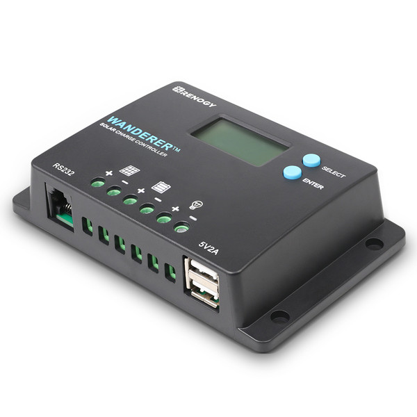 Wanderer 10A PWM Charge Controller (Back Order)