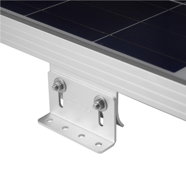 Solar Panel Mounting Curved Z Bracket -- Set of 4