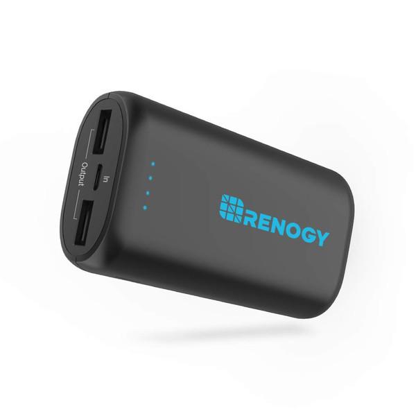 Renogy 10000mAh Power Bank World's Smallest & Lightest USB Phone Battery Charger