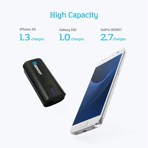 Renogy 5000mAh Mini Portable Charger