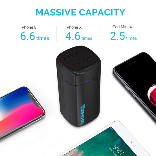 20000mAh Power Bank World's Smallest USB Phone Battery Charger