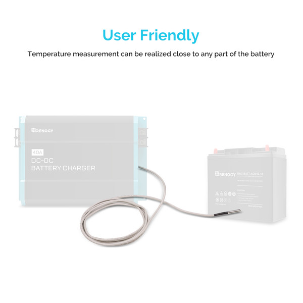 Battery Temperature Sensor for DC to DC on-board Battery Charger